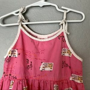 munki munki Dresses - Munki Munki Pink Ice Cream Truck Dress